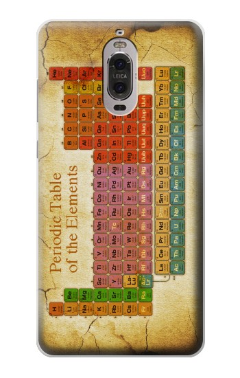Printed Vintage Periodic Table of Elements Huawei Ascend P6 Case