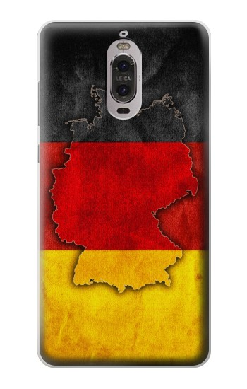 Printed Germany Flag Map Huawei Ascend P6 Case