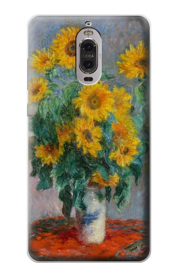 Printed Claude Monet Bouquet of Sunflowers Huawei Ascend P6 Case