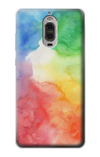 Printed Colorful Watercolor Huawei Ascend P6 Case