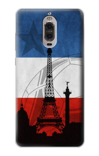 Printed France Football Flag Huawei Ascend P6 Case