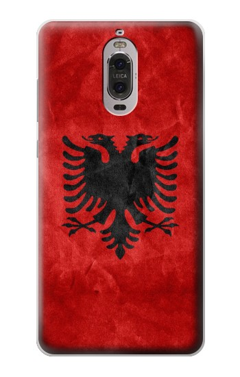 Printed Albania Red Flag Huawei Ascend P6 Case