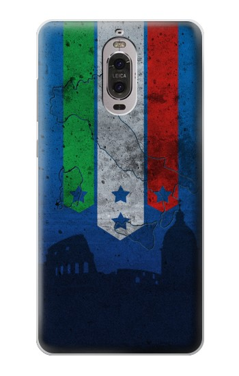 Printed Italy Football Flag Huawei Ascend P6 Case