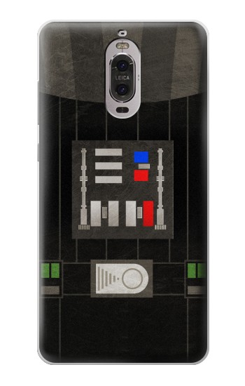 Printed Darth Vader Chest Plate Huawei Ascend P6 Case