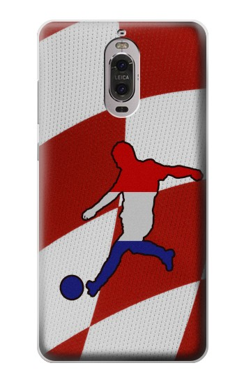 Printed Croatia Football Flag Huawei Ascend P6 Case