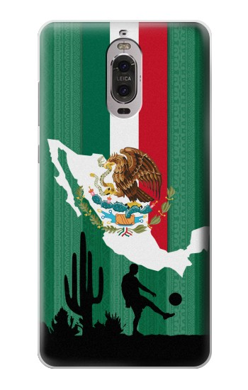 Printed Mexico Football Flag Huawei Ascend P6 Case