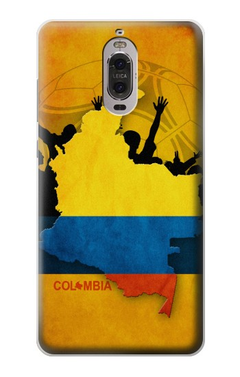 Printed Colombia Football Flag Huawei Ascend P6 Case