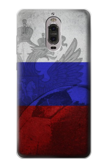 Printed Russia Football Flag Huawei Ascend P6 Case