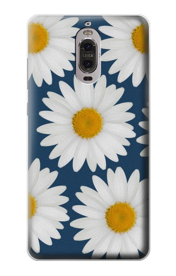 Printed Daisy Blue Huawei Ascend P6 Case