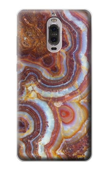 Printed Colored Marble Texture Printed Huawei Ascend P6 Case