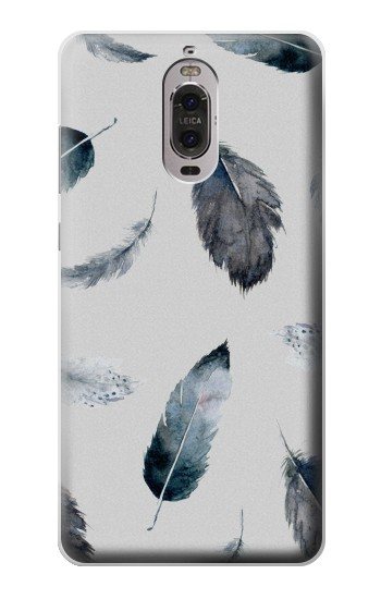 Printed Feather Paint Pattern Huawei Ascend P6 Case