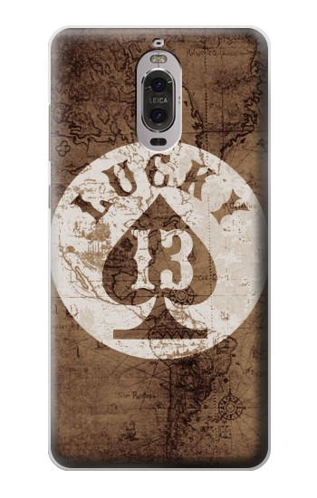 Printed Lucky 13 Old Map Huawei Ascend P6 Case