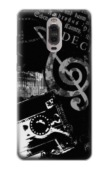 Printed Music Cassette Note Huawei Ascend P6 Case