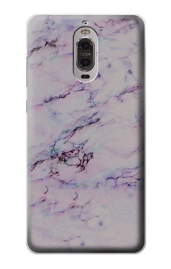 Printed Seamless Pink Marble Huawei Ascend P6 Case