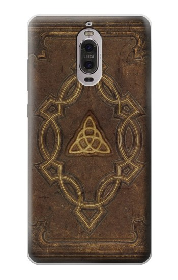 Printed Spell Book Cover Huawei Ascend P6 Case