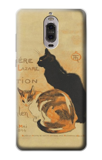 Printed Vintage Cat Poster Huawei Ascend P6 Case