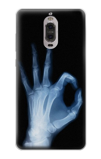 Printed X-Ray Hand Sign OK Huawei Ascend P6 Case