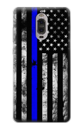 Printed Thin Blue Line USA Huawei Ascend P6 Case