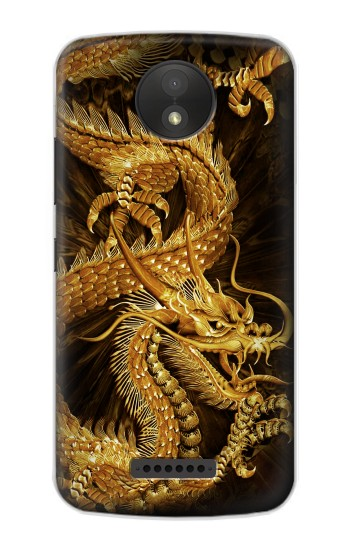 Printed Chinese Gold Dragon Printed BlackBerry Passport Case
