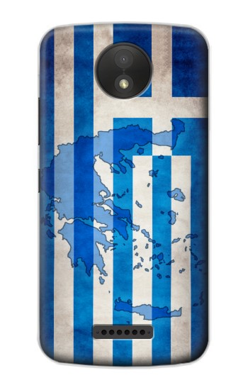 Printed Greece Map Flag BlackBerry Passport Case