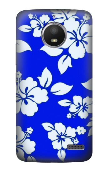 Printed Hawaiian Hibiscus Blue Pattern HTC Desire 816 Case