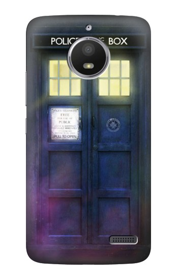 Printed Tardis Phone Box HTC Desire 816 Case