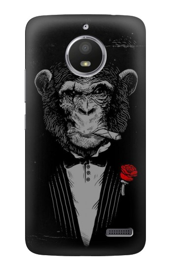 Printed Funny Monkey God Father HTC Desire 816 Case