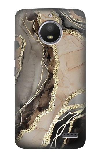 Printed Marble Gold Graphic Printed HTC Desire 816 Case