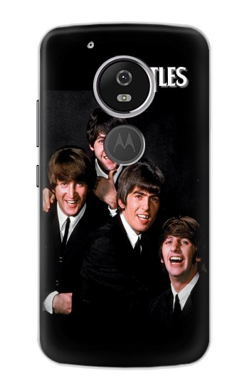 Printed The Beatles Motorola Moto E5 Case