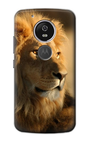 Printed Lion King of Forest Motorola Moto E5 Case