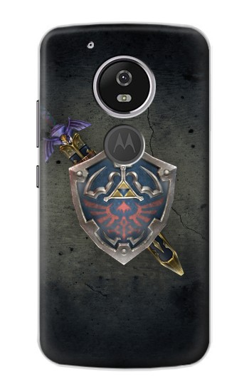 Printed Legend of Zelda Shield Motorola Moto E5 Case