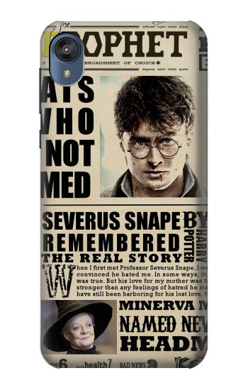 Printed Harry Potter Daily Prophet Motorola Moto E6 Case