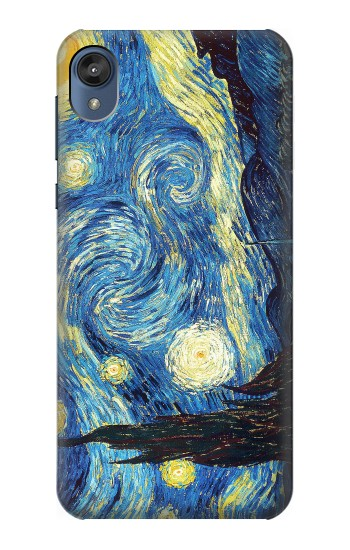 Printed Van Gogh Starry Nights Motorola Moto E6 Case