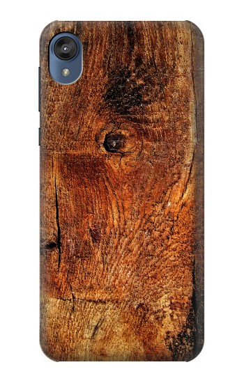 Printed Wood Skin Graphic Motorola Moto E6 Case