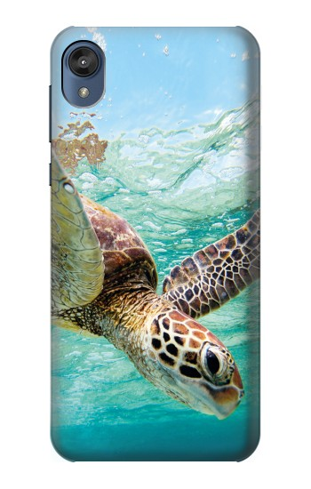 Printed Ocean Sea Turtle Motorola Moto E6 Case