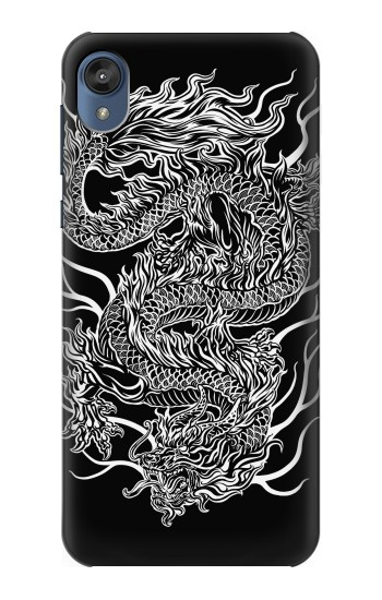 Printed Dragon Tattoo Motorola Moto E6 Case