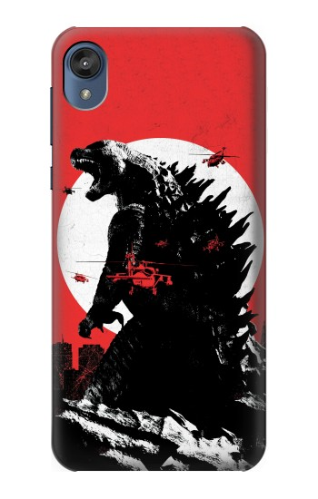 Printed Godzilla Japan Flag Motorola Moto E6 Case