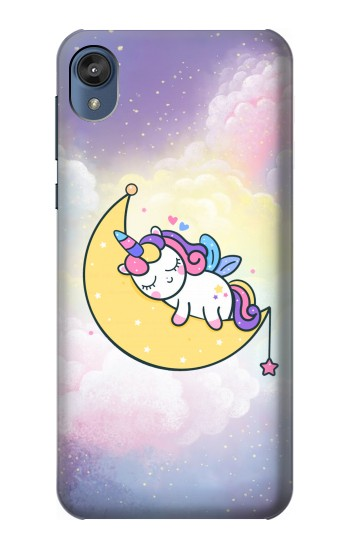 Printed Cute Unicorn Sleep Motorola Moto E6 Case