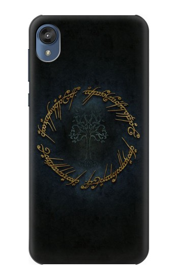 Printed Lord of The Rings Ring Elf Writing Motorola Moto E6 Case