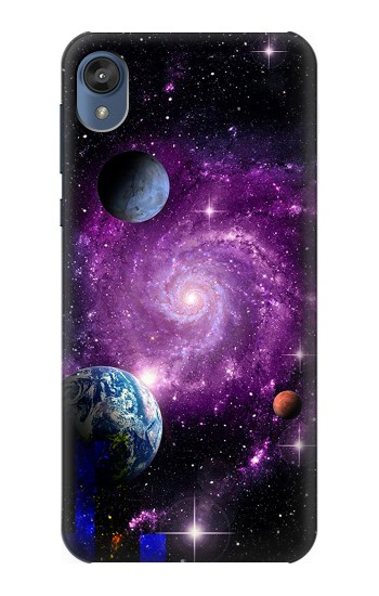 Printed Galaxy Outer Space Planet Motorola Moto E6 Case