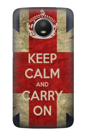 Printed Keep Calm and Carry On HTC Desire 728 dual sim Case