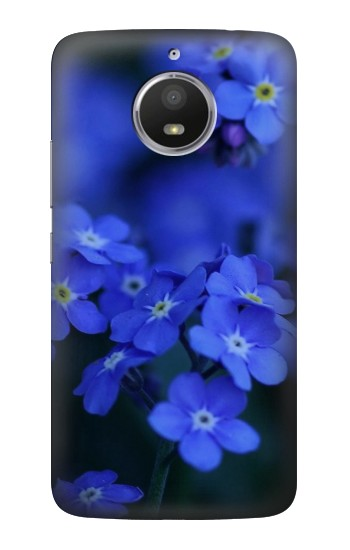 Printed Forget me not HTC Desire 728 dual sim Case