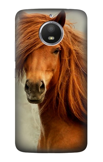 Printed Beautiful Brown Horse HTC Desire 728 dual sim Case