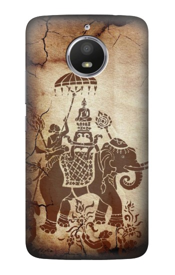 Printed Thai Art Buddha on Elephant HTC Desire 728 dual sim Case