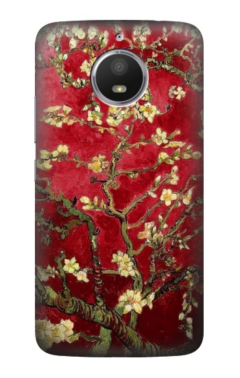 Printed Red Blossoming Almond Tree Van Gogh HTC Desire 728 dual sim Case