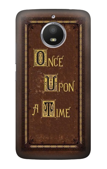 Printed Once Upon a Time Book Cover HTC Desire 728 dual sim Case