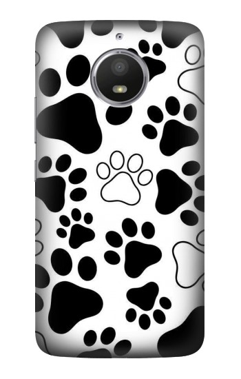 Printed Dog Paw Prints HTC Desire 728 dual sim Case