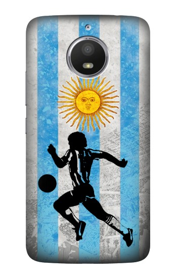 Printed Argentina Football Flag HTC Desire 728 dual sim Case