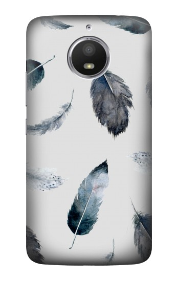 Printed Feather Paint Pattern HTC Desire 728 dual sim Case