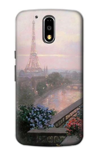 Printed Terrace in Paris Eifel Motorola DROID Turbo Case